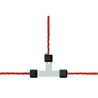Corral Wire T-Connector Galvanised Litzclip