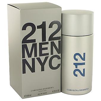 212 Eau De Toilette Spray por Carolina Herrera 6.8 oz Eau De Toilette Spray