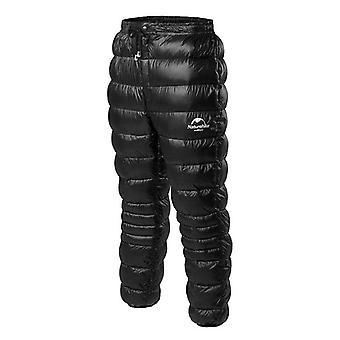 Outdoor Down Pants, Waterproof Wear, Hiking, Camping, Warm Winter Goose Down