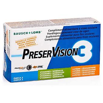 Bausch Lomb PreserVision 3 60 Capsules