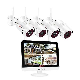 Video Surveillance Kit 1080p Wifi Cctv Camera Systeem Night Vision App