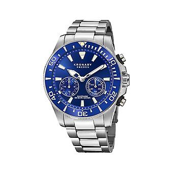 Kronaby S3778-1 Men's Hybrid Smartwatch Steel Bracelet