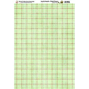 Nitwit Collection - JH Plaid Paper A4 10 Sheets
