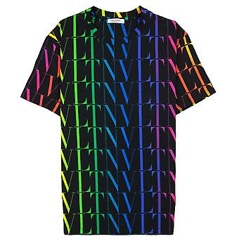 Valentino Vltn Times T-shirt Multi