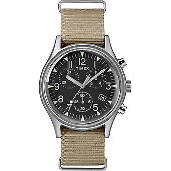 Timex MK1 Chrono Nylon Indiglo Mens Watch TW2T10700