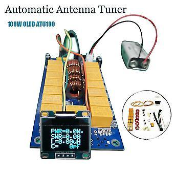 Zestaw diy automatyczny tuner anteny 7x7 (atu-100 mini przez n7ddc 7 * 7) + 0,96 cala oled firmware zaprogramowany z uk + oled 1szt