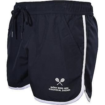 Bjorn Borg Icónico Sandro Athletic Raquetas Logotipo Pantalones Cortos de Natación, Marina
