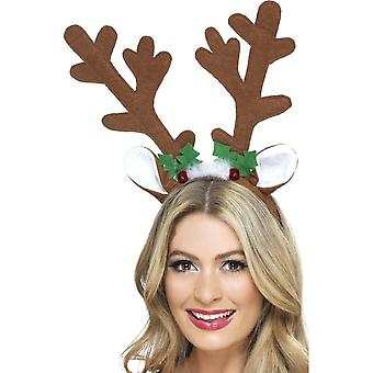 Serre-tête renne Noël