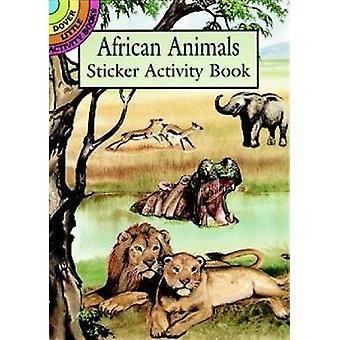 ヤン・ソヴァクによるアフリカの動物ステッカー活動ブック