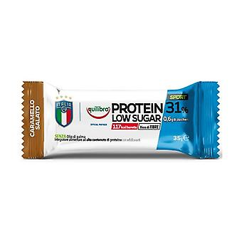 Protein 31% salty caramel low in sugar 24 bars of 35g