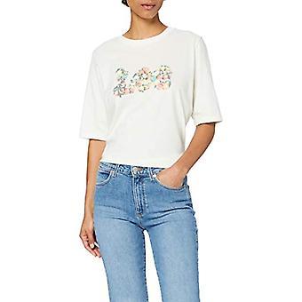 Lee Half Sleeve Graphic Tee T-Shirt, Natur, L Woman