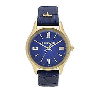 Trussardi Analog Quartz Watch for Women with Leather Strap R2451111501
