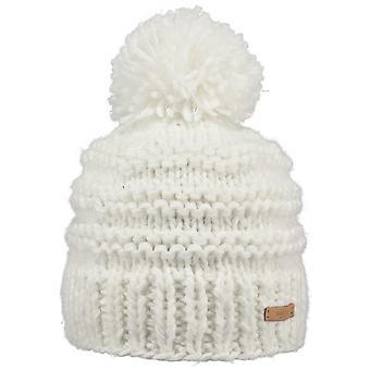 Barts Jasmin bobbel hoed in wit