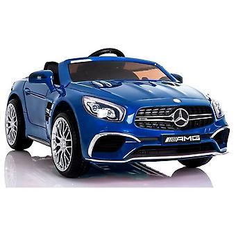 Mercedes SL65 elektrische kinderauto - blauw