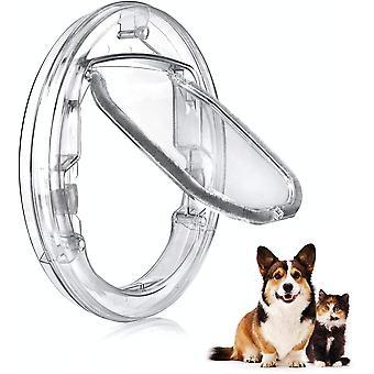 Katzenklappe Hundeklappe 4 Wege Magnet-Verschluss für Katzen