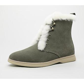 Winter Ankle Boots, Cow-suede-leather Boots