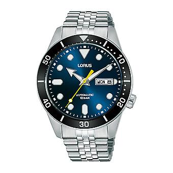Lorus RL449AX9 Mens Blue Dial Automatic Stainless Steel  Bracelet Watch