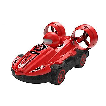 New 2.4g rc water land amphibious 2 in1 hovercraft speedboat drift 1:5 car waterproof recharge high speed car toys for boy gift