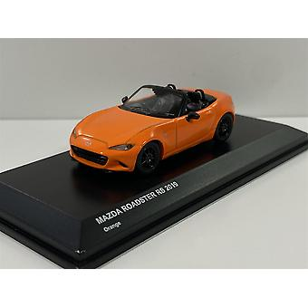 Mazda Roadster RS 2019 Orange 1:64 Scale Kyosho 7068A7