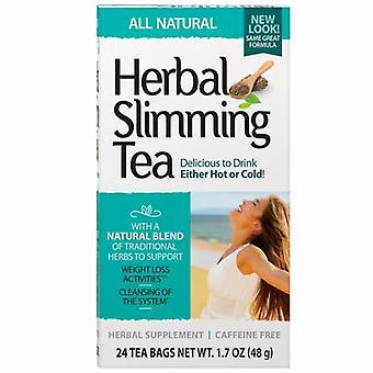 21st Century Herbal Slimming Tea, Natural 24 Bags