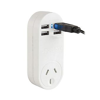 Jackson Power Outlet With 4 Usb Ports