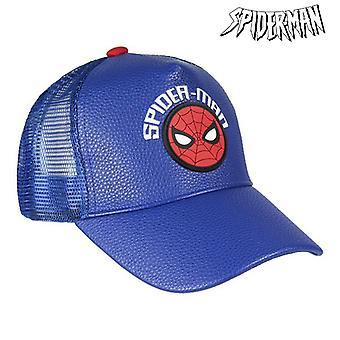 Child Cap Spiderman 75317 Blue (53 Cm)