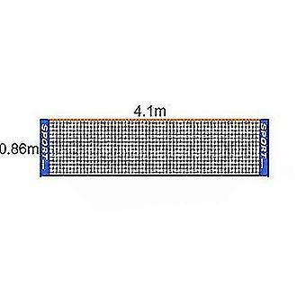 Pliage portable Simple 3m 4m 5m 6m Tennis Net Badminton Net(4m)