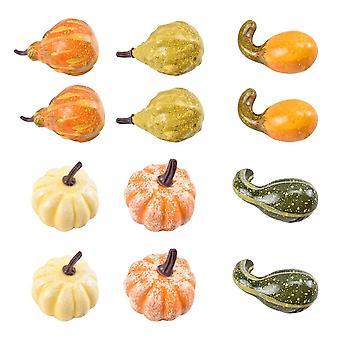 Simulation Pumpkin Set, Halloween Decoration Photography Props