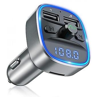 Dual Usb Port 5v/2.4a And 1a Car Charger