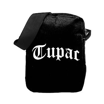 Tupac 2PAC Crossbody Bag trust Noboby Logo new Official Black