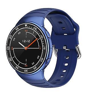 Chronus Smartwatch Men IP67 Waterproof Sports Heart Rate Wireless Earphones Bluetooth Smartwatch(Blue)
