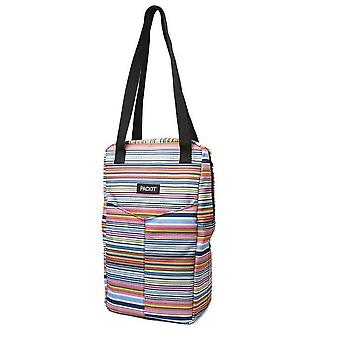 Packit insulated freezable double wine bag storage picnic tote carrier travel