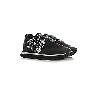Versace Jeans Couture Spyke Mesh Black Runner Trainer