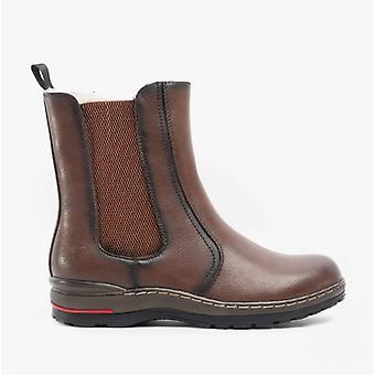 Heavenly Feet Nevada Ladies Chelsea Boots Chocolate