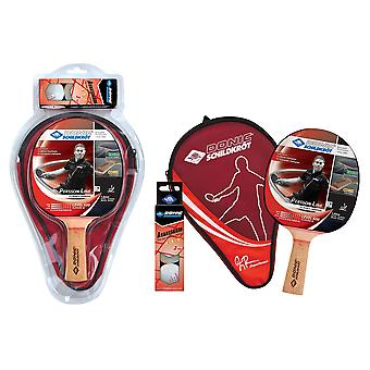Donic Schildkrot Persson 600 Table Tennis Gift Set - 1 Paddle and 3 Balls 40mm