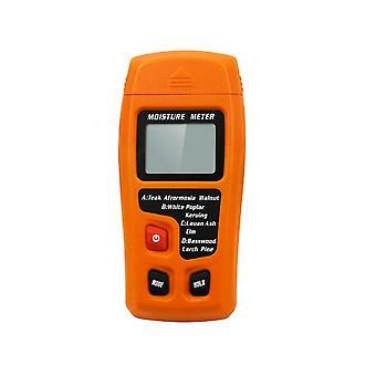 Digital Lcd Hygrometer Träfuktmätare Ved elektroddetektor 0-99.9%