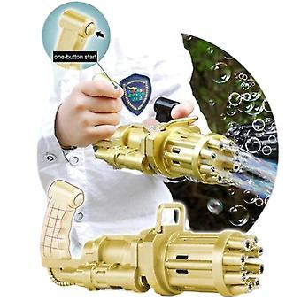 Nouvelle machine à bulles Gatling, électrique 1