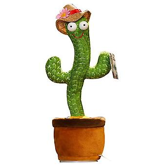 Dancing Cactus Plush Soft Toy With Song 32cm