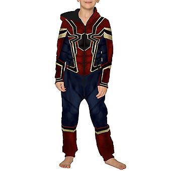 Halloween Lapset Poika Tyttö Spiderman Astronautti Haalari Naamiaispuku