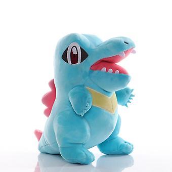 22cm Takara Tomy Pokemon Totodile Muhkeat Lelut Söpö Anime Pehmeät Täytetyt Eläimet Lelut Nukke Joulu Lahjat Lapsille
