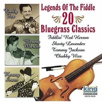 -フィドルの伝説伝説バイオリン [CD] 米国のインポートします。