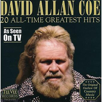 David Allan Coe - 20 All-Time Greatest Hits [CD] USA import