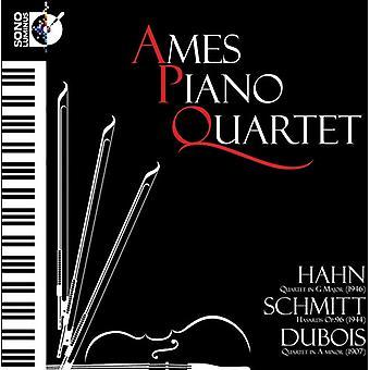 Hahn/Schmitt/Dubois - Hahn: Quartet in G; Schmitt: Hasards; Dubois: Quartet in a Minor [CD] USA import