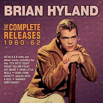 Importieren Sie Brian Hyland - Hyland Brian-Complete Releases 1960-6 [CD] USA