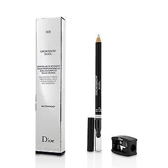 Christian Dior Diorshow Khol potlood waterdicht met puntenslijper - # 009 wit Khol - 1.4g/0.04oz