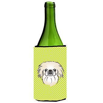 لوح شطرنج الجير الأخضر زجاجة النبيذ بيكينجيسي المشروبات عازل نعالها
