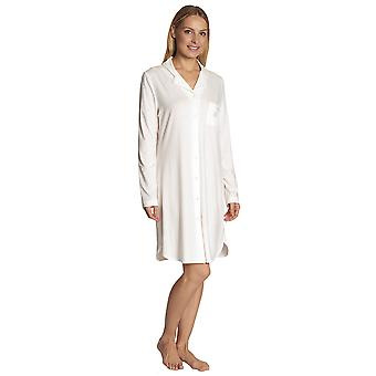 Féraud 3883031-10044 Női's Champagne White Sleep Shirt Nighty Nightshirt