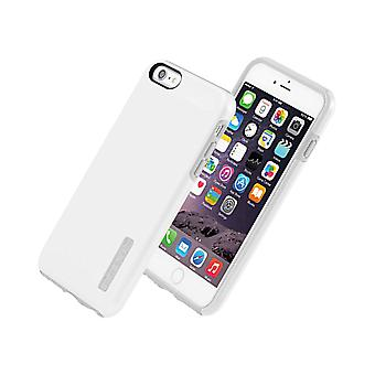 Incipio DualPro Shine Case Cover for Apple iPhone 6 - Plus (White/Gray) - IPH-1196-WHTGRY