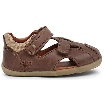 Bobux Step Up Boys Chase Sandals Brown