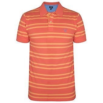 GANT Gant Coral Striped Polo-Shirt